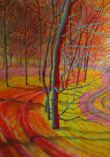Baarn, 2015 – 50 x 70 – acryl op papier