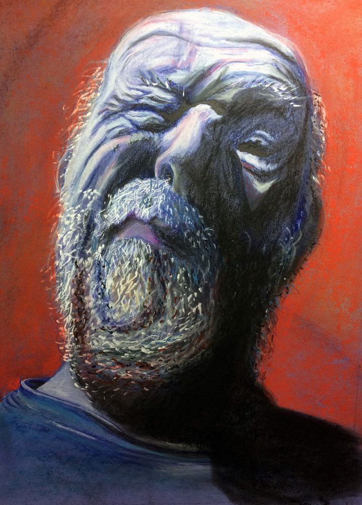 Zelfportret 14 Knipoog